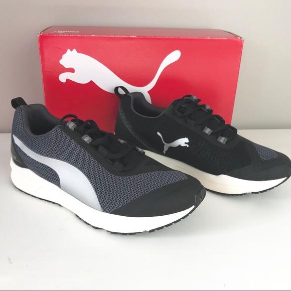53ba27d301f4 Puma NEW Ignite XT run training sneakers black 7